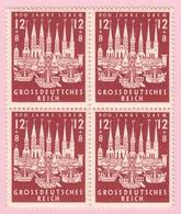 REICH  BLOCS DE 4 TIMBRES  N° 781 - Germania