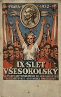 Czech Card // Propaganda - Patriotic // Praha 1932 - IX SLET Vsesokolsky 19?? - Patriottisch
