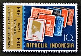 CENTENAIRE DU TIMBRE EN INDONESIE 1964 - NEUF ** - YT 389 - MI 443 - Indonésie
