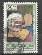 DJIBOUTI - N°719 U Obl (1997) Communications - Gibuti (1977-...)