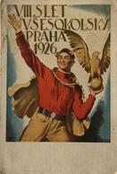 Czech Card // Propaganda - Patriotic // Praha 1926 - VIII SLET Vsesokolsky 19?? - Patriottisch