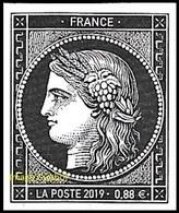 France N° 5305 ** 170 Ans Du Premier Timbre-poste Français Cérès, Pour Lettre TVP Verte - Neufs