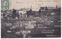 Tunisie -  TUNIS -  Le Cimetière - 1909 - Tunisie