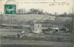 CPA 24 Dordogne Vue Générale Du Francou Environs De Villefranche Du Périgord - France