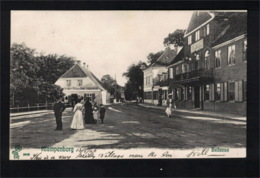 DE2386 - DENMARK - KLAMPENBORG -  BELLEVUE - STREET SCENE - Dänemark