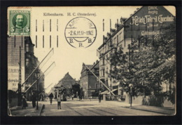 DE2392 - DENMARK - KÖBENHAVN - H. G. 216RSTEDSVEJ W/ TRAM TROLLEY - Dänemark