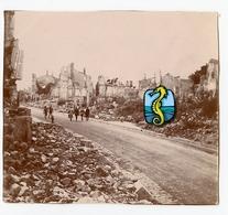 1919 Destruction Ww1 14-18 à Situer Identifier ? Cf Autres Photo De 1919 France Ruine Bombardement REIMS Champagne - Guerre, Militaire