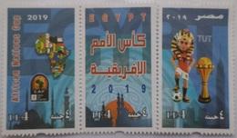 Egypt- Africa Cup Of Nations - Unused MNH Set Of 3 Stamps - [2019] (Egypte) (Egitto) (Ägypten) (Egipto) (Egypten) Africa - Egypt