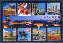 CROAZIA - Zagabria - Vedute - Cartolina Non Viaggiata, Come Da Scansione. - Croazia