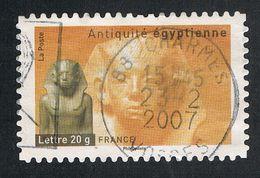 "FRANCE : N° 4006 Oblitéré ""TàD Rond"" (Antiquités : Le Pharaon Amenemhat III) - PRIX FIXE - - Usati"