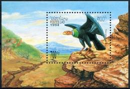 Laos 1994  BF 125 ; Block 148 **  MNH  Birds, Oiseaux - Laos