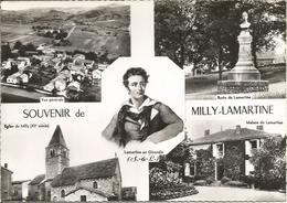 SOUVENIR De MILLY-LAMARTINE.  (scan Verso) - France