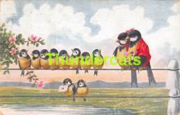 CPA ILLUSTRATEUR OISEAUX ARTIST SIGNED BIRDS OHLER BKWI B K W I  (PLI - CREASE ) - Illustrateurs & Photographes