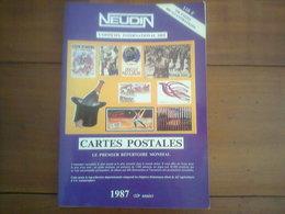 CATALOGUE NEUDIN 1987  - - Livres