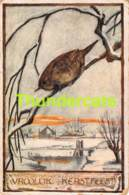 CPA ILLUSTRATEUR  ARTIST SIGNED KUPERUS OISEAU BIRD VOGEL ( PLI D'ANGLE - CORNER CREASE ) - Illustrateurs & Photographes