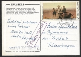 1987 - UDSSR RUSSLAND - SCHIFFSPOST Nach PRAG - Paquebot M.S MICHAEL KALINEN Ab HAMBURG - 1992-.... Fédération