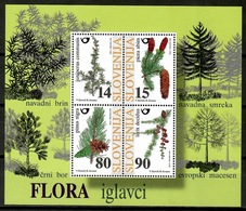 Slovenia 1998 Eslovenia / Trees MNH Árboles Bäume Arbres / Cu13326  40-23 - Árboles