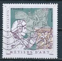 France - Métiers D'Art / Sculpteur Sur Pierre YT 5040 Obl. Ondulations - Oblitérés
