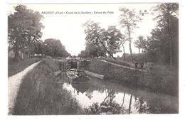 Péniche à Argent (18 - Cher)  Canal De La Sauldre - écluse Du Puits - Houseboats