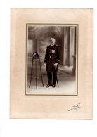 Réf. 196 - Photo G.F - Militaire Médaillé En Studio - (50) Cherbourg - Personnes Anonymes