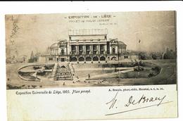 CPA - Carte Postale-Belgique Liège Exposition De 1905 Projet De Palais Définitif-1904 VM4608 - Liege