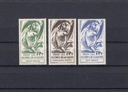 France,Timbres De Bienfaisance Des PTT, Neufs, N° 61,62,63 - Documents De La Poste
