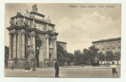 FIRENZE - PIAZZA CAVOUR - ARCO TRIONFALE  VIAGGIATA FP - Firenze