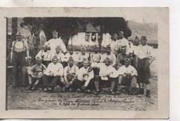 Cpa.Photo.Militaire.groupe.1922.Caserne Bouffaey Lons Le Saunier. - Fotografia