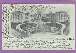 PALAIS LONGCHAMP VERS 1900,CARTE POUR ABBAZIA(CROATIE). - Monuments