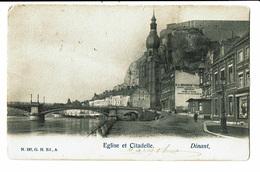 CPA - Carte Postale-Belgique Dinant- Eglise Et Citadelle-1904 VM4610 - Dinant