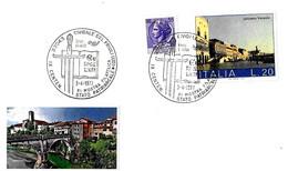 ITALIA - 1977 CIVIDALE FRIULI (UD) IX Cent. Stato Patriarcale (spada, Libro) - XI Mostra Filatelica - Storia