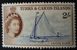 Turks Et Caicos 1957 Bateau Boat Yvert 174 ** MNH - Turks E Caicos