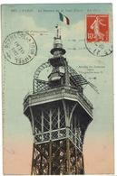 CPA - 75 - PARIS - Le Sommet De La Tour Eiffel - 1912 - Eiffeltoren