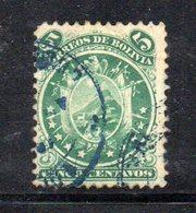 APR1795 - BOLIVIA 1871 , Yvert N. 14  Usato - Bolivia