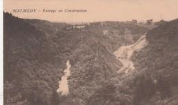 MALMEDY  /  CONSTRUCTION DU BARRAGE - Malmedy