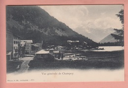 OUDE POSTKAART ZWITSERLAND - SCHWEIZ - SUISSE -   CHAMPERY  1900'S - VS Wallis
