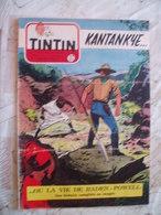 TINTIN BELGE  NO 33-08/1954-RC SCOUT BADEN POWEL-RC DIVERS--VOIR - Tintin