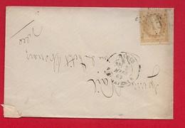 LSC - Seine - Paris -Etoile 15  Sur N°28- Rue Bonaparte - 1869 - Marcophilie (Lettres)