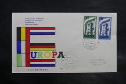 ITALIE - Enveloppe FDC 1956 - Europa - L 34780 - 6. 1946-.. Republic