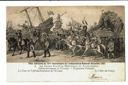 CPA - Carte Postale-Belgique Bruxelles-Fête Du 75me Anniversaire De L'indépendance- Le Char Du Congo-1906 VM4615 - Fêtes, événements