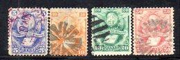 APR1802 - BOLIVIA 1878 , Serie Yvert N. 19/22 Usata - Bolivia