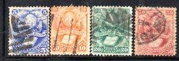 APR1803 - BOLIVIA 1878 , Serie Yvert N. 19/22 Usata - Bolivia