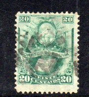 APR1806 - BOLIVIA 1878 , Yvert N. 21 Usato - Bolivia