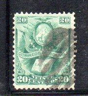 APR1807 - BOLIVIA 1878 , Yvert N. 21 Usato - Bolivia