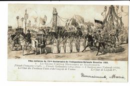 CPA - Carte Postale-Belgique Bruxelles-Fête Du 75me Anniversaire De L'indépendance- Le Char De Léopold Ier-1906 VM4617 - Fêtes, événements