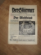 """""""""""  Der  Stürmer """"""""  Nr.6  ,  14. Jahr , 1936 - Tijdschriften & Kranten"""