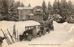 Grand Chalet Du Col De Porte.....voitures.... - Francia
