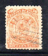 APR1813 - BOLIVIA 1890 , Yvert N. 30 Usato - Bolivia