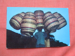 Haitian Basket Vendor Port Au Prince   Stamps  & Cancel  Ref  3483 - Haiti