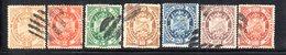 APR1815 - BOLIVIA 1894 , Serie Yvert N. 39/45 Usata - Bolivia